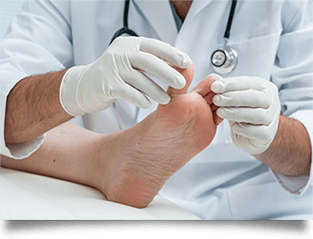 Foot care services for patients with diabetes in Bridgeport & Weston, WV